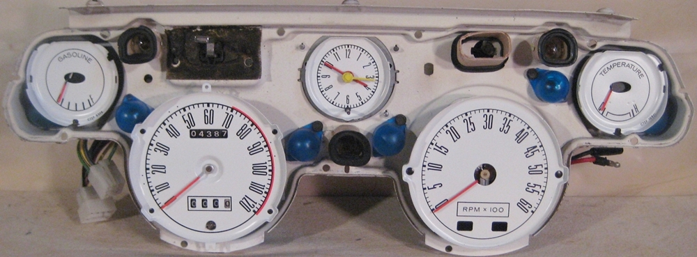 1967 mustang gauge cluster pictures to pin on pinterest