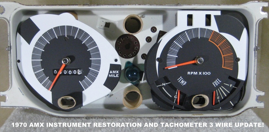 Tachometer Repair Restoration For Antique Classic Cars Auto